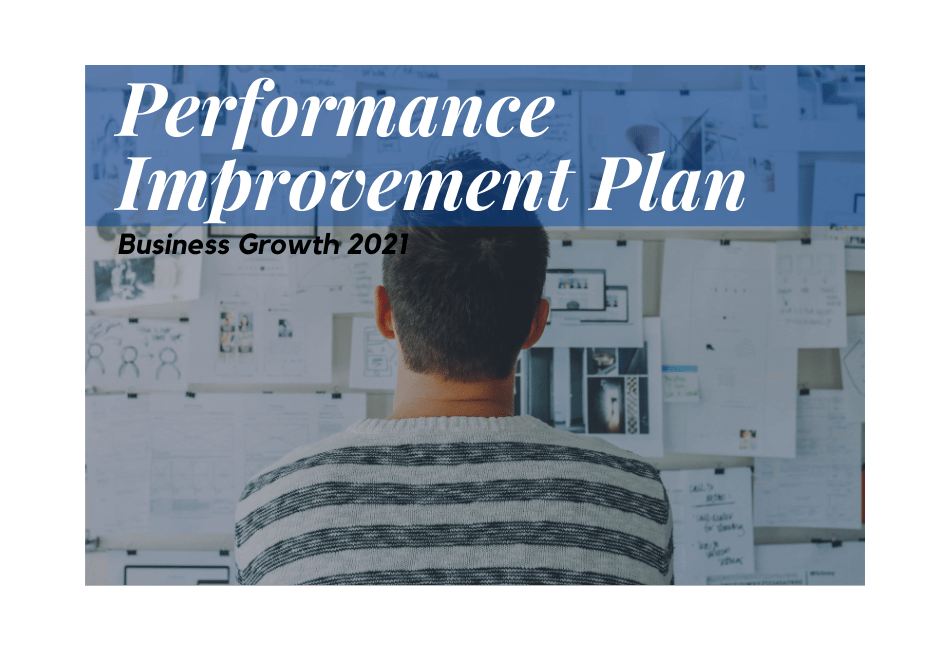 What is a performance improvement plan?