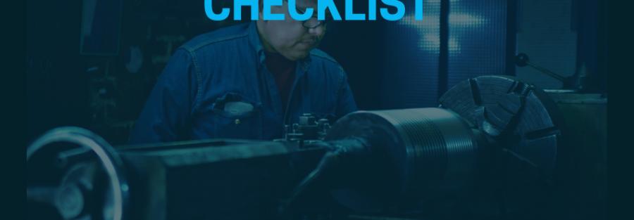 New Manufacturing Plant Checklist